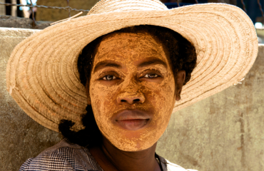 Madagascar donna decorata
