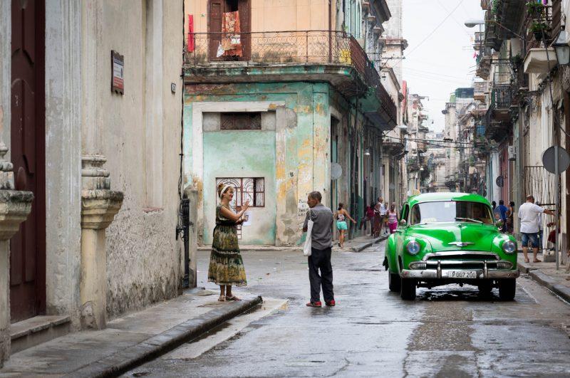 Le strade a L'Havana. Foto : Maria Bonetto