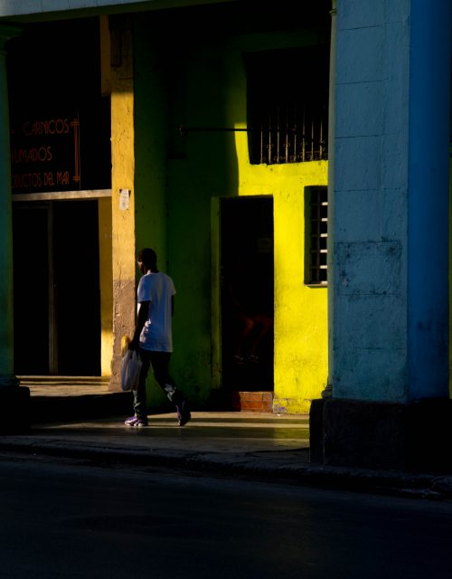Malecòn al tramonto. Foto : Maria Bonetto