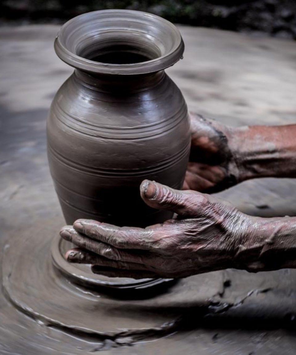 Pottery Sq. di Bhaktapur
