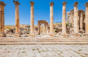 Il Cardo e il Decumano di Jerash