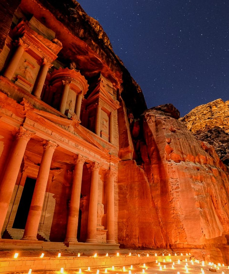 Petra by Night: il Tesoro