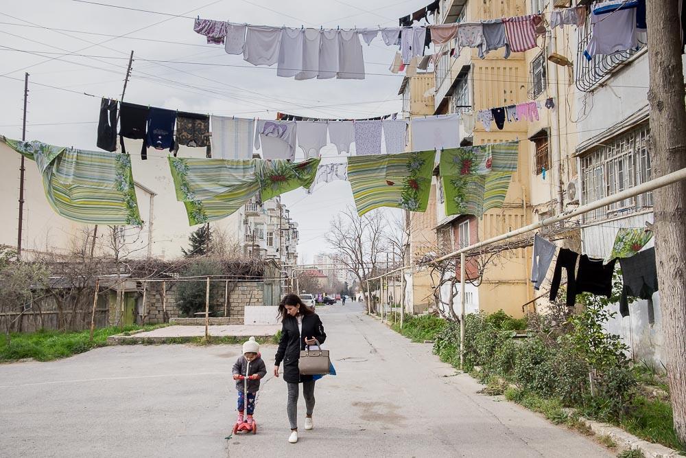 periferia di Baku